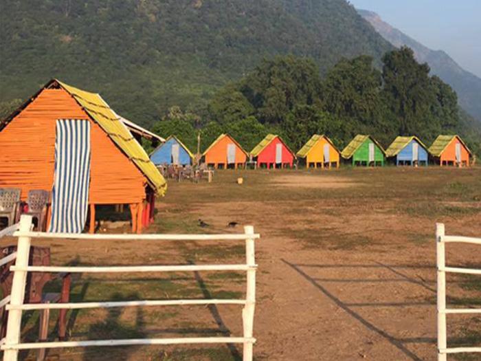 Bamboo Huts papikondalu bhadrachalam1