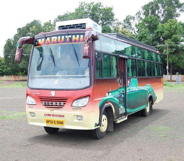 Maruthi Tourism Bus - bhadrachalam