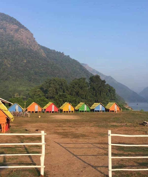 papikondalu bamboo huts booking Night stay
