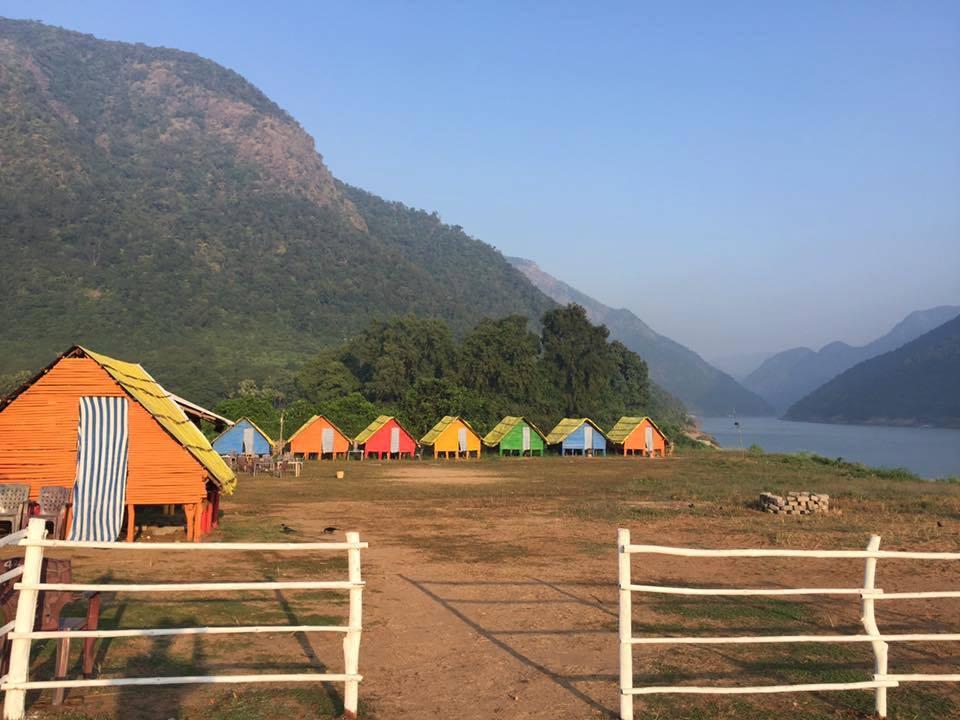 papikondalu bamboo huts booking Night stay